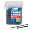 Tapcon 225-Count 3/16-in x 2.75-in Coated Self-Tapping Concrete Screw