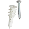 E-Z Ancor 50 Pack Twist and Lock Self-Drilling Drywall Anchors