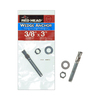 Red Head 3/8-in x 3-in Wedge Anchor for Solid Concrete