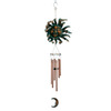 Garden Treasures 37-in L Verdigris Metal Wind Chime