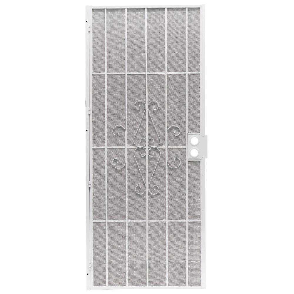 Security screen doors metal lowes