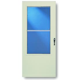 Shop Larson 36 Almond Highland Storm Door At