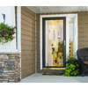 LARSON Signature White Full-View Tempered Aluminum Glass and Interchangeable Screen Storm Door (Common: 36-in x 81-in; Actual: 35.75-in x 79.75-in)