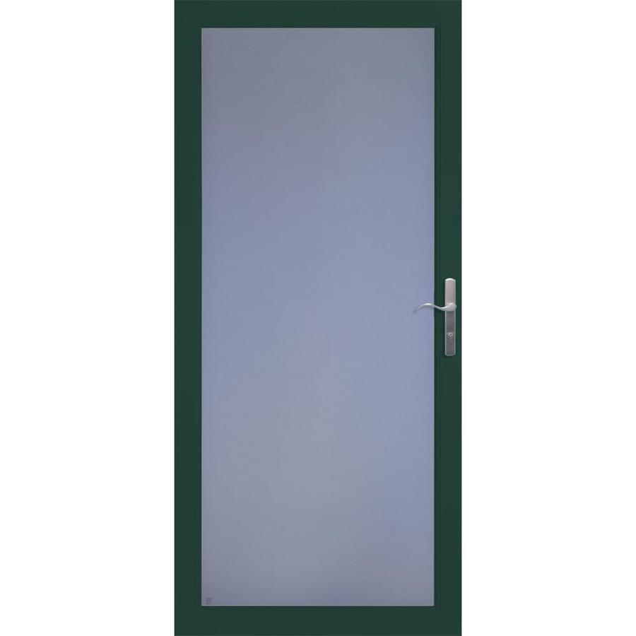 Security Storm Doors Product : Shop larson secure elegance green full view laminated