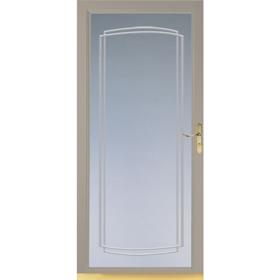 Glass Storm Doors : Glass replacement larson storm door