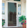 LARSON Williamsburg White Full-View Tempered Aluminum Glass and Interchangeable Screen Storm Door (Common: 36-in x 81-in; Actual: 35.75-in x 79.75-in)