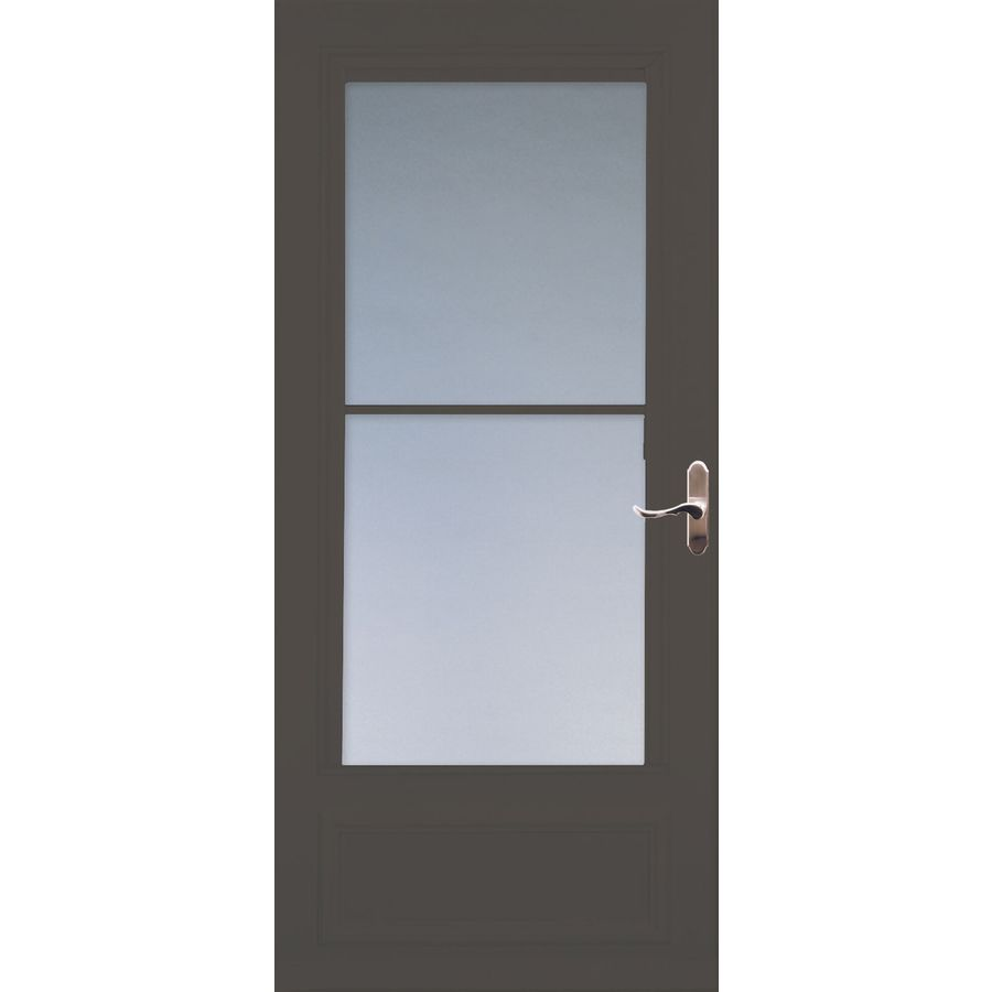 Shop Larson Savannah Brown Mid View Tempered Glass