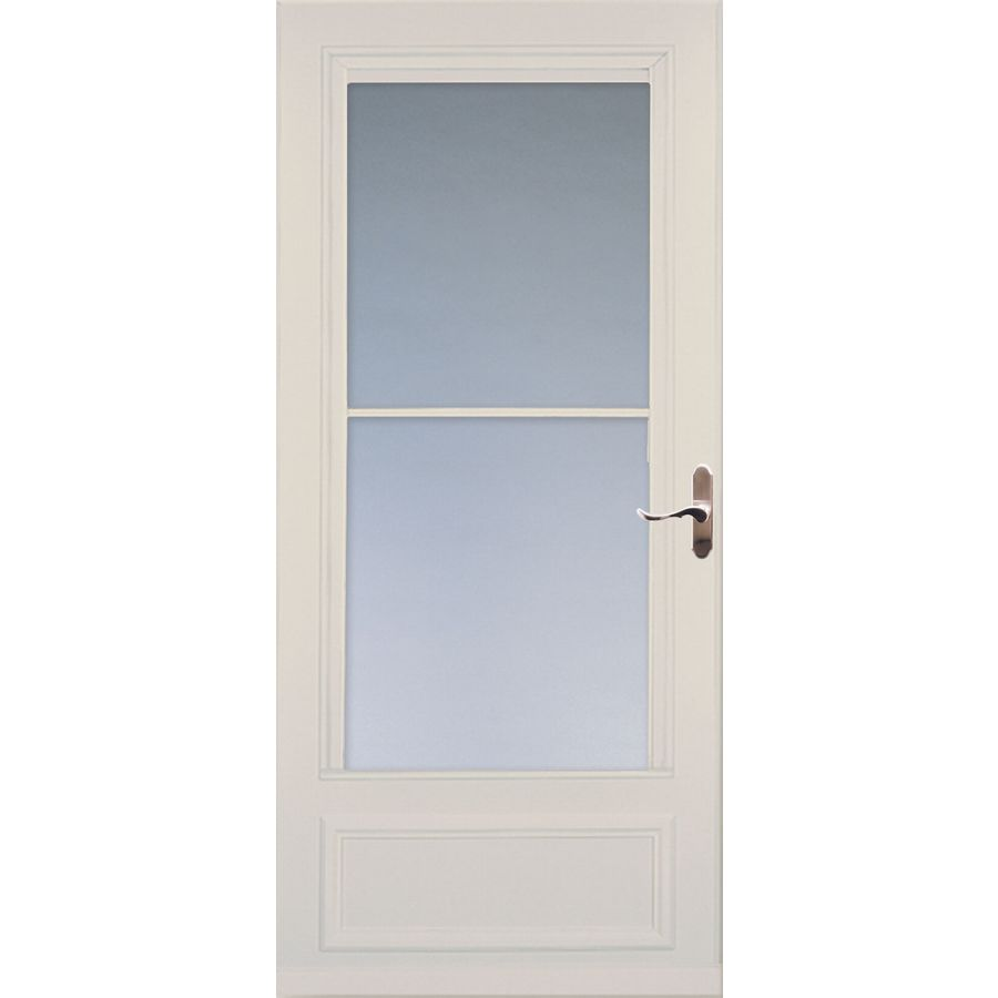 Shop Larson Savannah Almond Mid View Tempered Glass