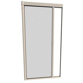 Shop larson 39 in x 79 in desert tan retractable screen for Retractable screen door lowes