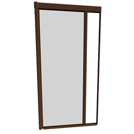 Shop larson 48 in x 91 in brownstone retractable screen for Best rated retractable screen doors