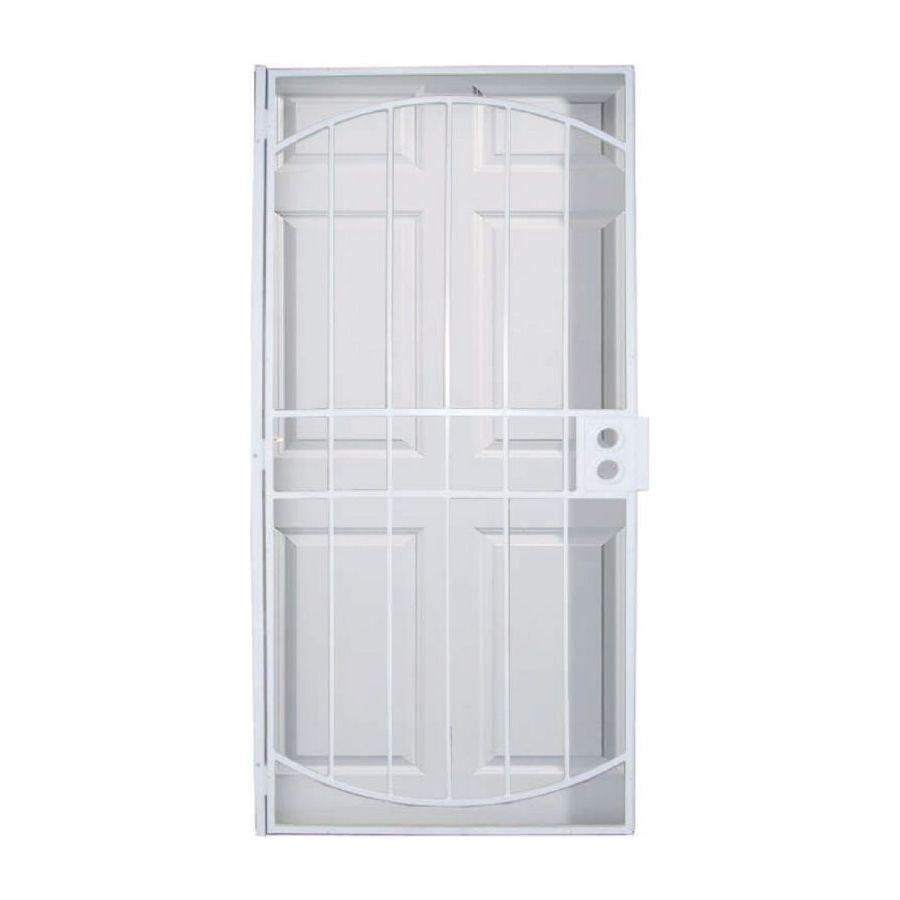 Steel Security Storm Door : Security doors larson steel door