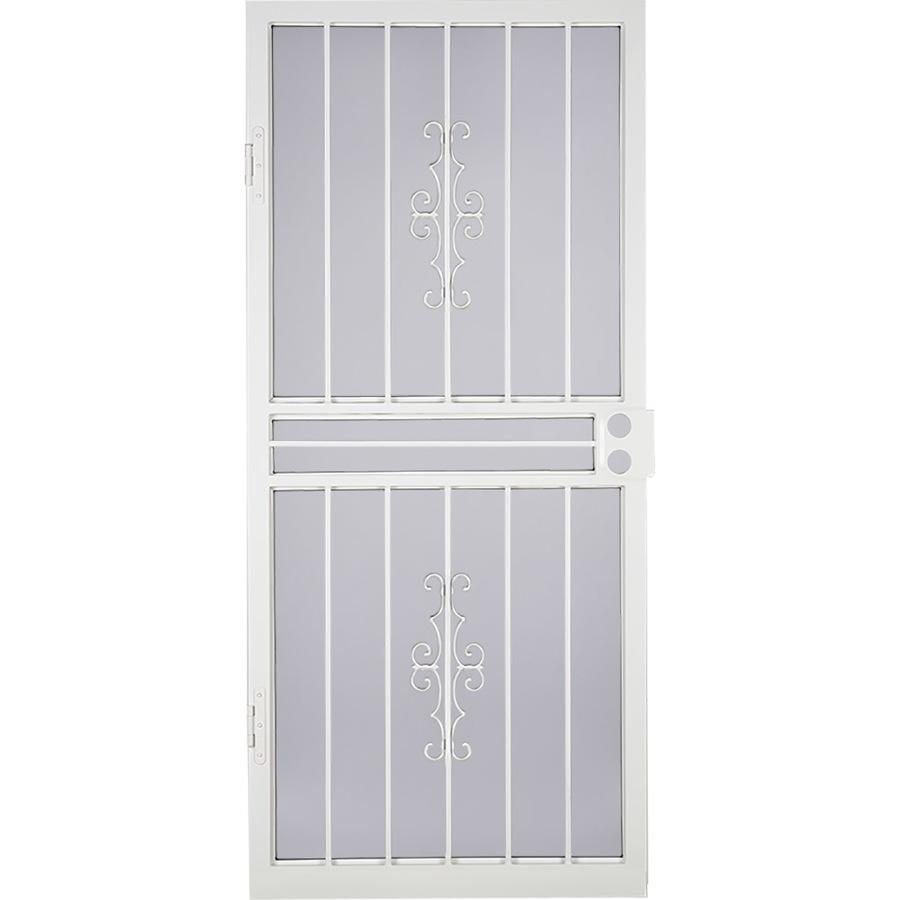 Security Doors Steel Security Door Lowes