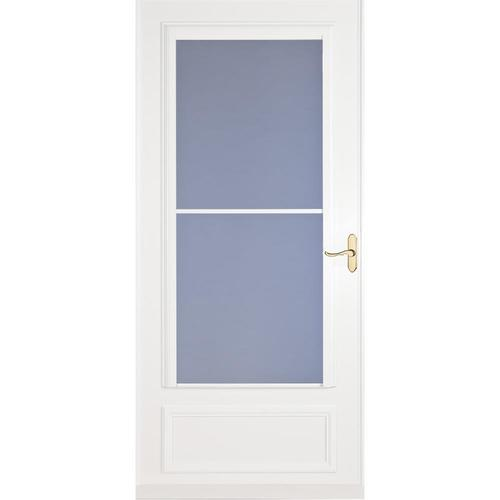 Security screen doors metal security screen doors lowes for Front door screen doors lowes