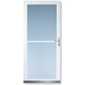 Security screen doors security screen doors lowes for Home depot rolling screen door