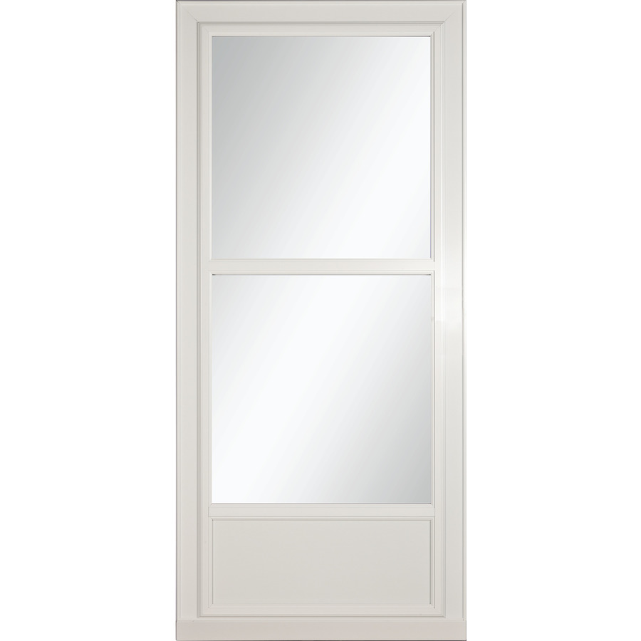 Shop Larson Tradewinds Selection White Mid View Tempered