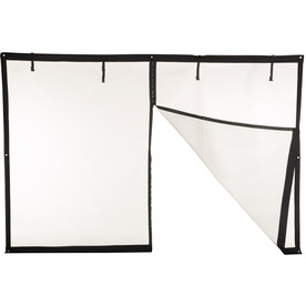 Shop Comfort Bilt 196 In X 88 In Black Retractable Screen