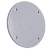 Hubbell TayMac 1-Gang Round Plastic Weatherproof Electrical Box Cover