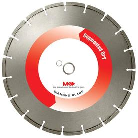 MK Diamond Products 14-in 19-Tooth Segmented Circular Saw Blade