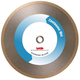 MK Diamond Products 10-in Wet Continuous Circular Saw Blade