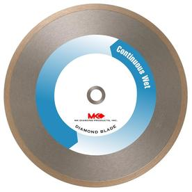 MK Diamond Products 10-in Wet Continuous Diamond Circular Saw Blade