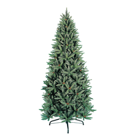 Holiday Living 9-ft Fir Unlit Artificial Christmas Tree