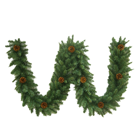 Holiday Living 9-ft Fraser Fir Artificial Garland