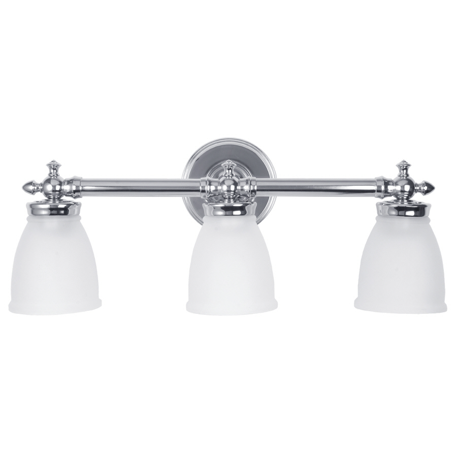 Delta Bathroom Vanity Lights : Shop DELTA 3-Light Bathroom Vanity Light at Lowes.com