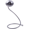 Checkolite International 9.5-in Adjustable Silver LED Clip-On Desk Lamp with Plastic Shade