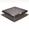 Solar 22 x 22 Solar Fixed Self Flashing, Deck Mount Skylight, with White Acrylic Single Dome