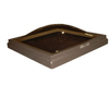 Solar 22 x 22 Solar Fixed Curb Mount Skylight, with Bronze over Clear Acrylic Double Dome