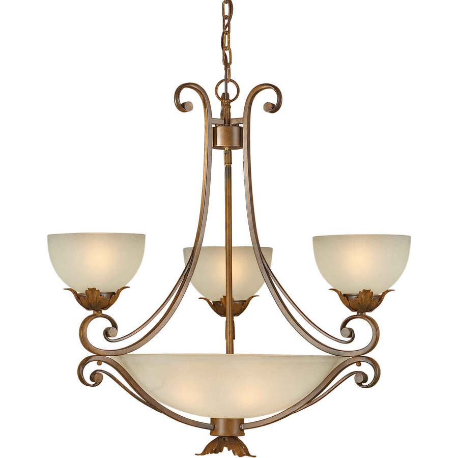 Shop Shandy 7 Light Rustic Sienna Chandelier At