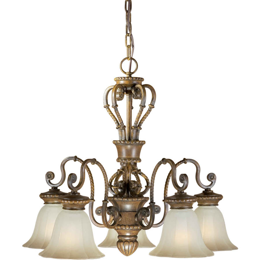 Shop Shandy 5 Light Rustic Sienna Chandelier At