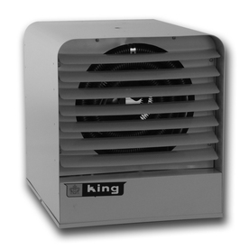 King 25,605-BTU Heater Fan Electric Space Heater with Thermostat