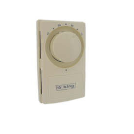 King Rectangle Mechanical Non-Programmable Thermostat