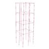 47-in Powder-Coated Galvanized Steel Wire Square Tomato Cage