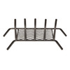 1/2-in Steel 23-in 5-Bar Fireplace Grate with Ember Retainer