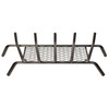 1/2-in Steel 27-in 5-Bar Fireplace Grate with Ember Retainer