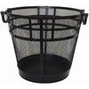 Style Selections Black Mesh Log Basket