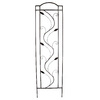 allen + roth 20-in W x 72-in H Rust Leaf Garden Trellis