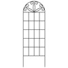 Garden Treasures 20-in W x 60-in H Black Trellis