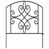 32-in H x 2-ft L Arched and Scroll Border Fence