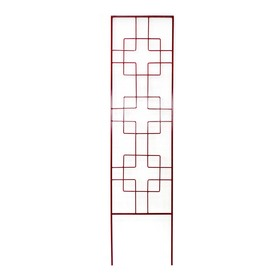Garden Treasures 24-in W x 72-in H Red Trellis