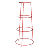 16-in W x 36-in H Red Garden Trellis