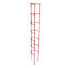  6.75-in W x 58-in H Red Garden Trellis