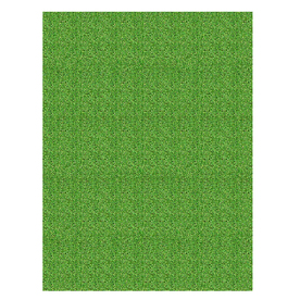 Shaw Living Grass 72-in x 96-in Rectangular Green Solid Area Rug