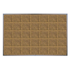 "Shaw Living 27"" x 47-1/2"" Double Diagonal Door Mat"