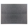 Blue Hawk 48-in x 36-in Charcoal Rectangular Door Mat