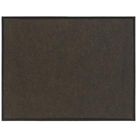 "Blue Hawk 48"" x 72"" Hobnail Brown Utility Door Mat"