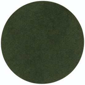 Shaw Living Green Polyester Tree Stand Pad