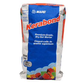 MAPEI 50 lbs Gray Powder Dry-Thinset Mortar
